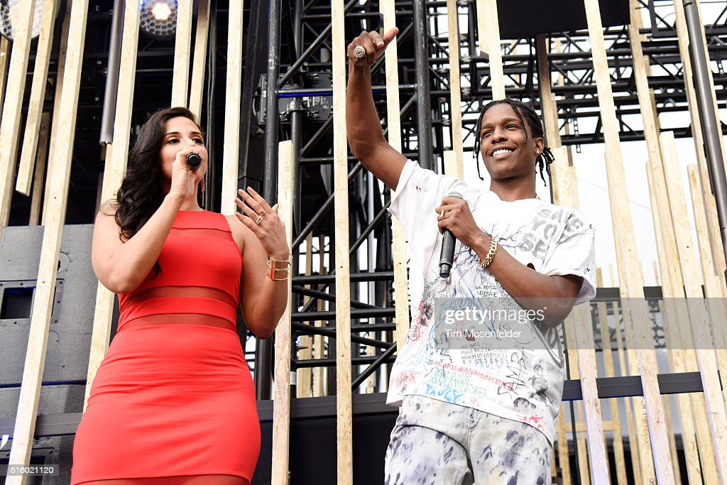 "FirstLook LIVE on Twitter: ""ASAP Rocky, Nessa ""Ness Nitty"" 