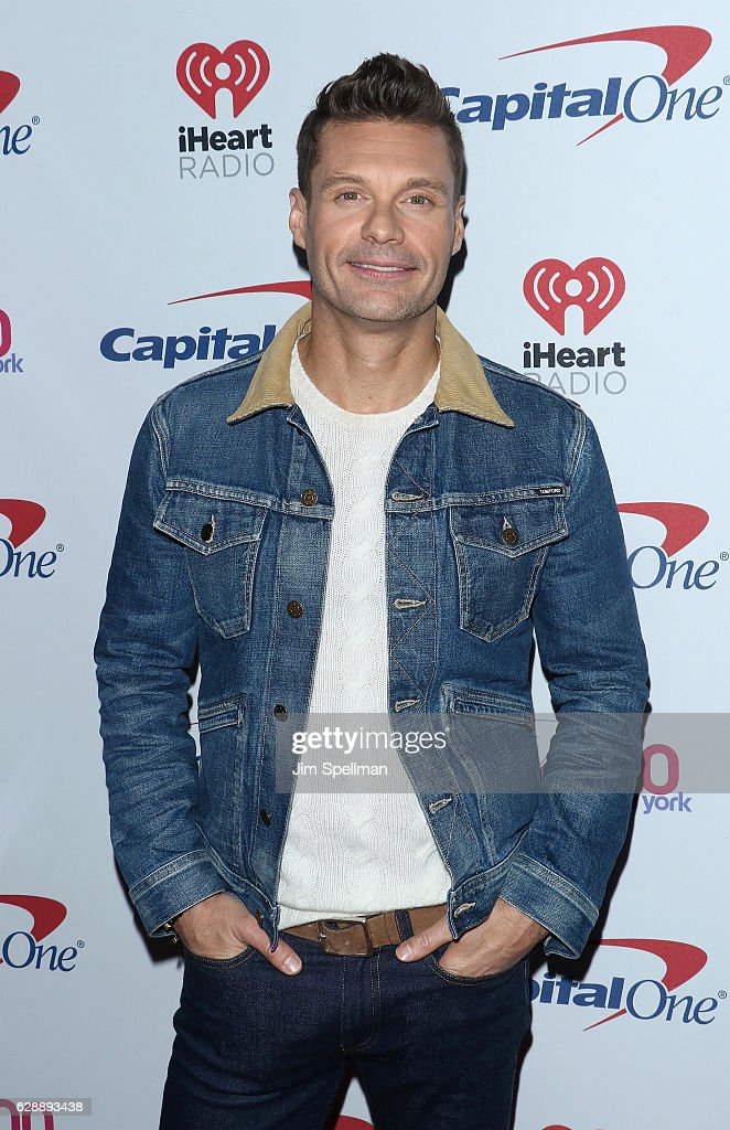 Radio/TV personality Ryan Seacrest attends Z100's Jingle Ball 2016 at Madison Square Garden on December 9, 2016 in New York City.