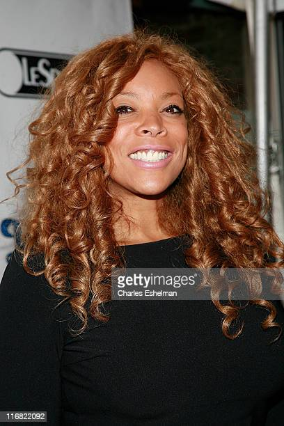 Radio/TV personality Wendy Williams attends the Black Women in Entertainment Law Foundation cocktail party at Talavera Gallery on October 1 2008 in...