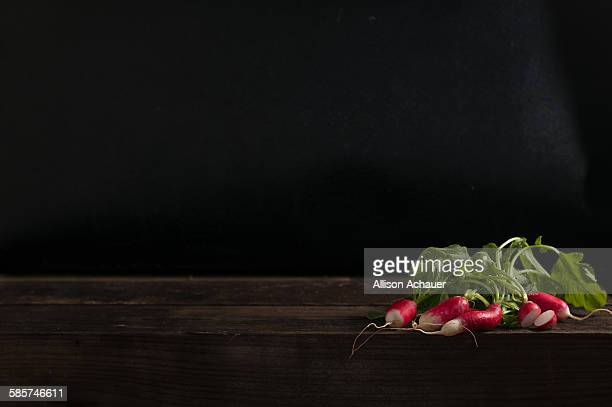 Radish bundle still life
