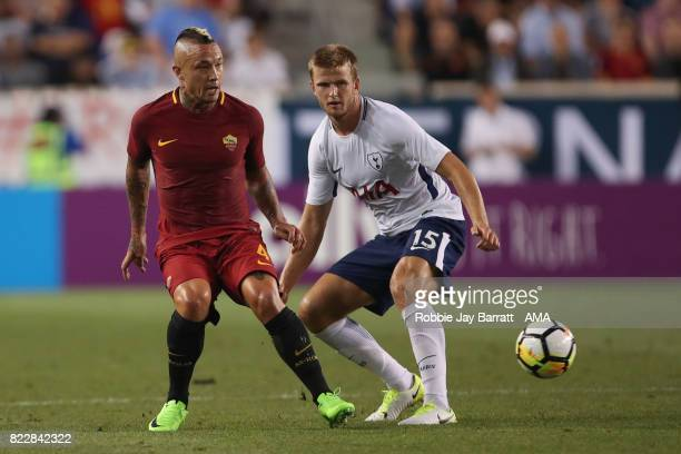 Radja Nainggolan of AS Roma and Eric Dier of Tottenham Hotspur during the International Champions Cup 2017 match between Tottenham Hotspur and AS...
