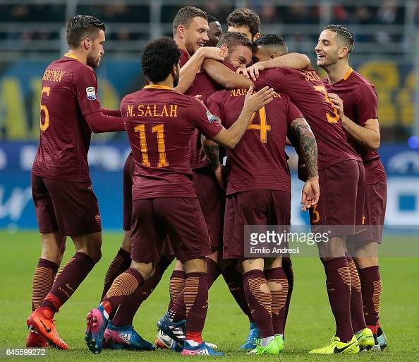 FC Internazionale v AS Roma - Serie A : News Photo