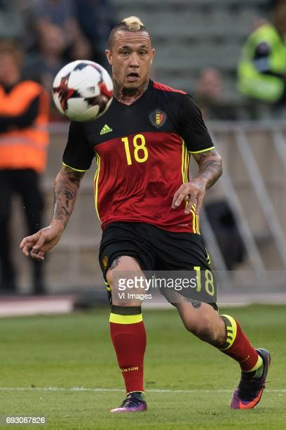 Radja Nainggolan of Belgiumduring the friendly match between Belgium and Czech Republic on June 05 2017 at the Koning Boudewijn stadium in Brussels...