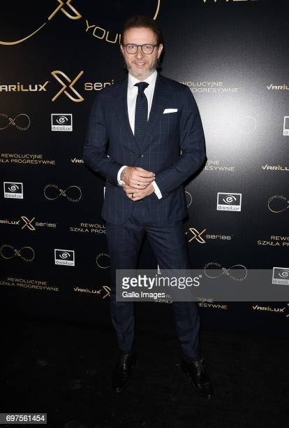 Radoslaw Majdan attends the Forever Young Varilux gala on June 06 2017 at the IMKA Theatre in Warsaw Poland The gala was organized by a producer of...
