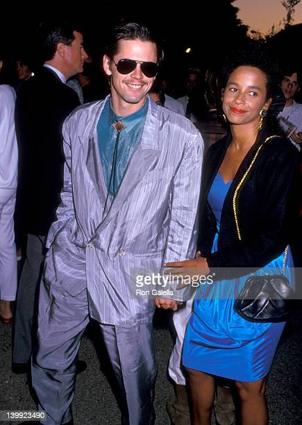 Rae Dawn Chong and C Thomas Howell at the Rae Dawn Chong and C Thomas Howell at Wadsworth Theater Wadsworth Theater Los Angeles