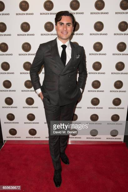 Raef Bjayou attends the Bergen Brand Handbag launch at Wolf Badger on March 16 2017 in London England