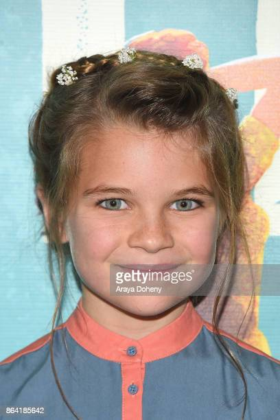Raegan Revord attends the opening night of 'Bright Star' at Ahmanson Theatre on October 20 2017 in Los Angeles California