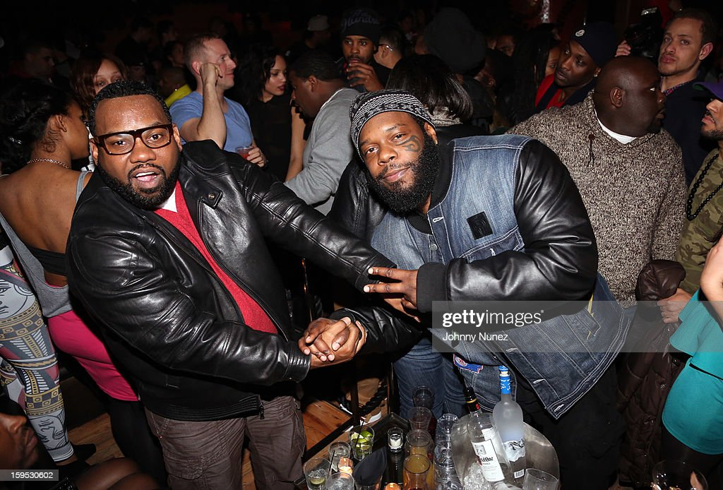 <a gi-track='captionPersonalityLinkClicked' href=/galleries/search?phrase=Raekwon&family=editorial&specificpeople=798556 ng-click='$event.stopPropagation()'>Raekwon</a> and Tek celebrate <a gi-track='captionPersonalityLinkClicked' href=/galleries/search?phrase=Raekwon&family=editorial&specificpeople=798556 ng-click='$event.stopPropagation()'>Raekwon</a>'s birthday at Greenhouse on January 14, 2013 in New York City.