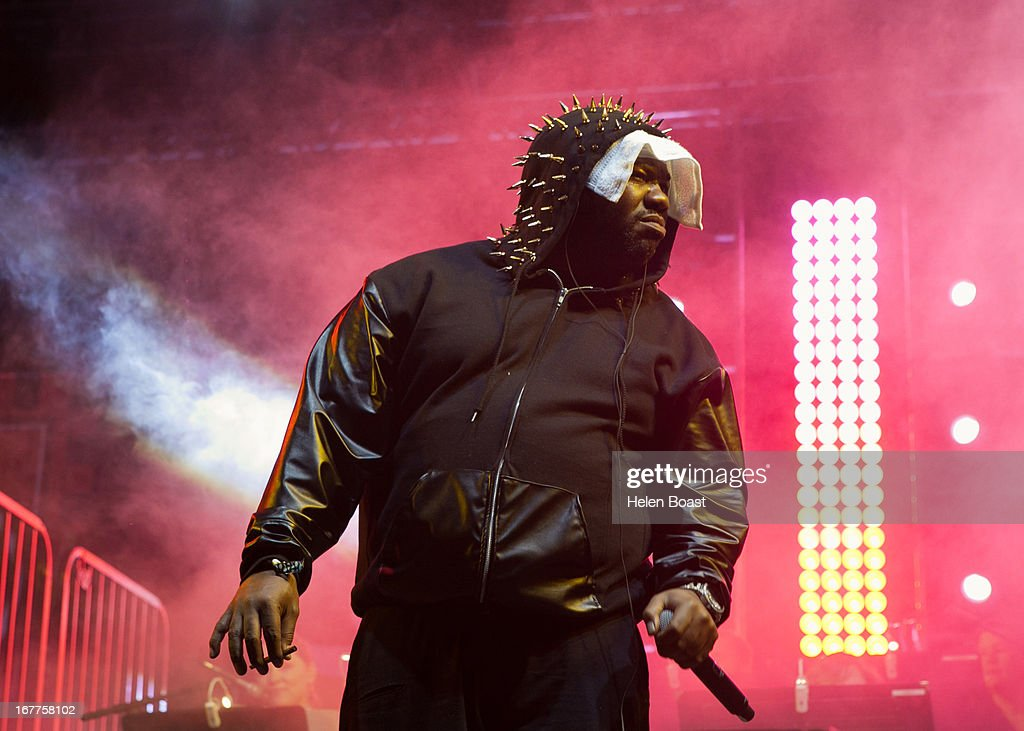 Raekwon Clan performs on stage at 2013 Coachella Music Festival on April 21, 2013 in Indio, California.