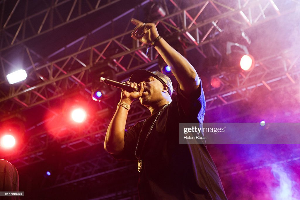 Raekwon of Wu Tang Clan performs on stage at 2013 Coachella Music Festival on April 21, 2013 in Indio, California.