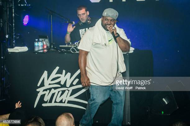 Raekwon performs at Le Nouveau Casino on July 23 2014 in Paris France