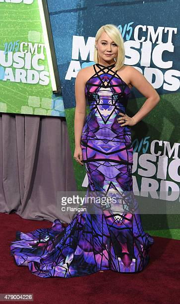 RaeLynn attends the 2015 CMT Music awards at the Bridgestone Arena on June 10 2015 in Nashville Tennessee