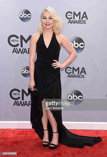 RaeLynn attends the 48th annual CMA Awards at the Bridgestone Arena on November 5 2014 in Nashville Tennessee