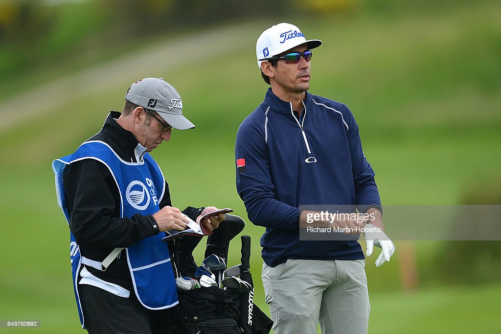 Rafa Cabrera-Bello of Spain looks down the 10th hole during the first round of the 100th Open de France at Le Golf National on June 30, 2016 in Paris, France.