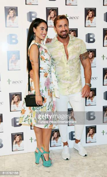 Rafa Mora and Macarena attend the presentation of the autobiography book 'Frente Al Espejo' by Terelu Campos at Hotel Villamagna on July 12 2017 in...