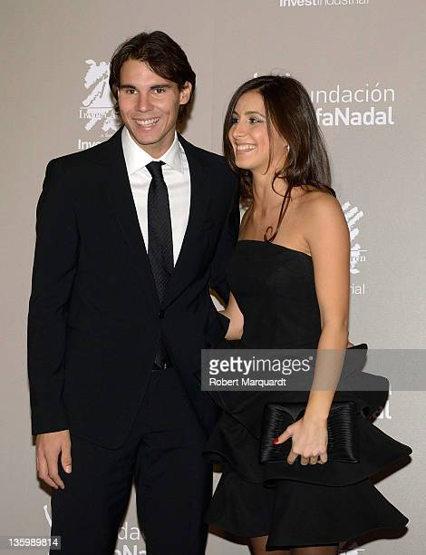 Rafa Nadal and Maria Francisca ''Xisca' Perello attend the 'Juntos Por La Integracion' charity gala organized by the Foundation Rafa Nadal on...