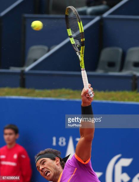 Rafa Nadal during the match against Kevin Anderson corresponding to the Barcelona Open Banc Sabadell on April 27 2017