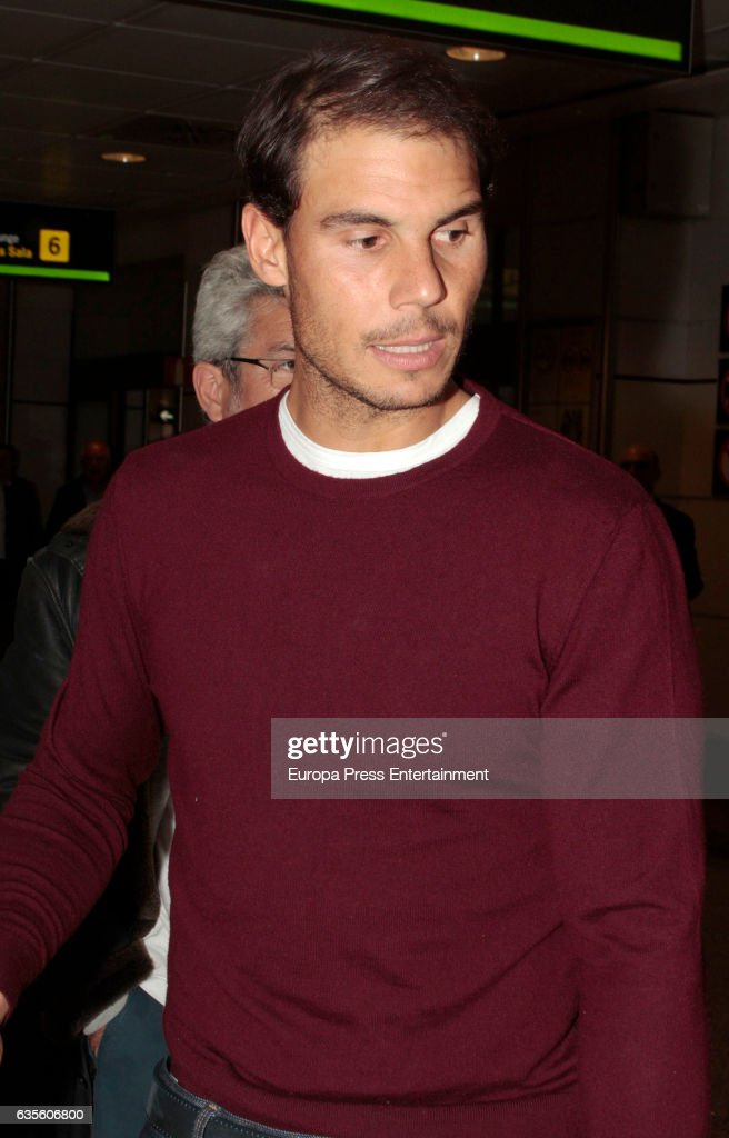 Celebrities Sighting In Madrid - February 15, 2017 : Photo d'actualité