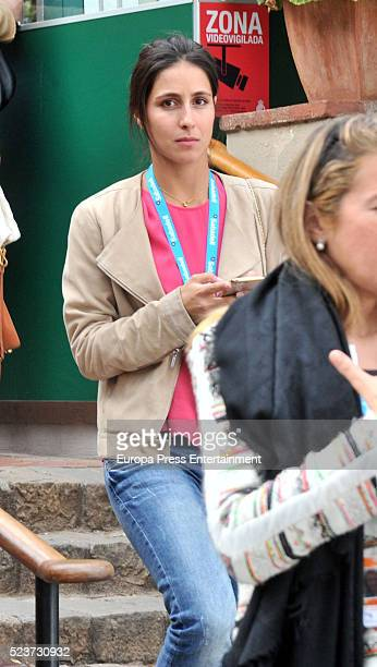 Rafa Nadal's girlfriend Xisca Perello is seen attending Tennis Barcelona Open Banc Sabadell on April 20 2016 in Barcelona Spain