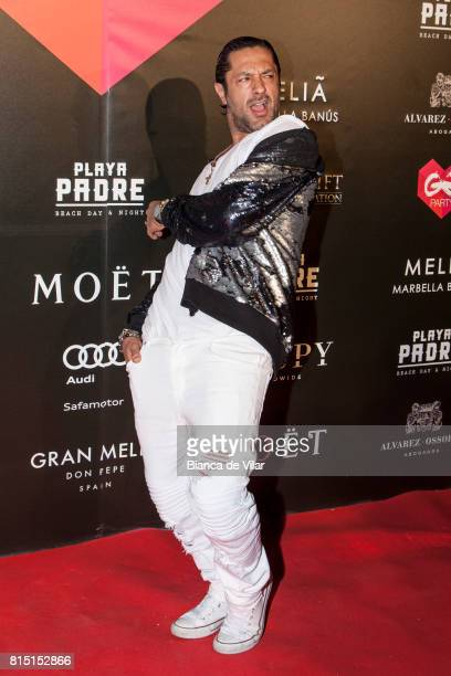 Rafael Amargo attends The Global Gift Party on July 15 2017 in Marbella Spain