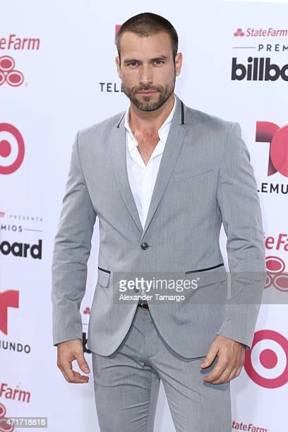 Rafael Amaya arrives at 2015 Billboard Latin Music Awards presented bu State Farm on Telemundo at Bank United Center on April 30 2015 in Miami Florida