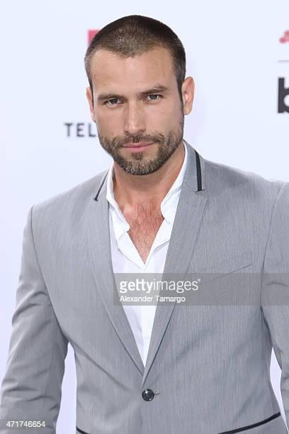 Rafael Amaya arrives at 2015 Billboard Latin Music Awards presented by State Farm on Telemundo at Bank United Center on April 30 2015 in Miami Florida
