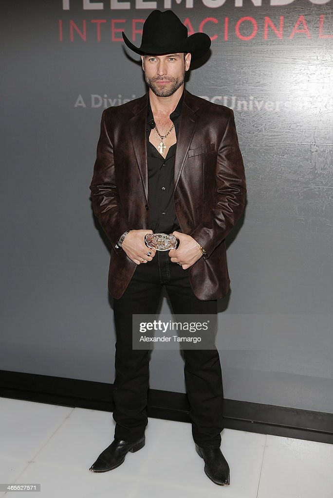 <a gi-track='captionPersonalityLinkClicked' href=/galleries/search?phrase=Rafael+Amaya&family=editorial&specificpeople=2473222 ng-click='$event.stopPropagation()'>Rafael Amaya</a> attends Telemundo Luncheon to launch 'Camelia Le Texana' during NATPE at Eden Roc Hotel on January 27, 2014 in Miami Beach, Florida.