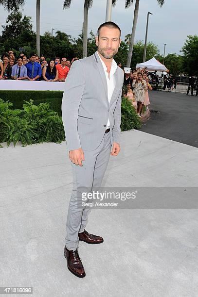 Rafael Amaya attends the 2015 Billboard Latin Music Awards 'Premios Billboard' at BankUnited Center on April 30 2015 in Miami Florida