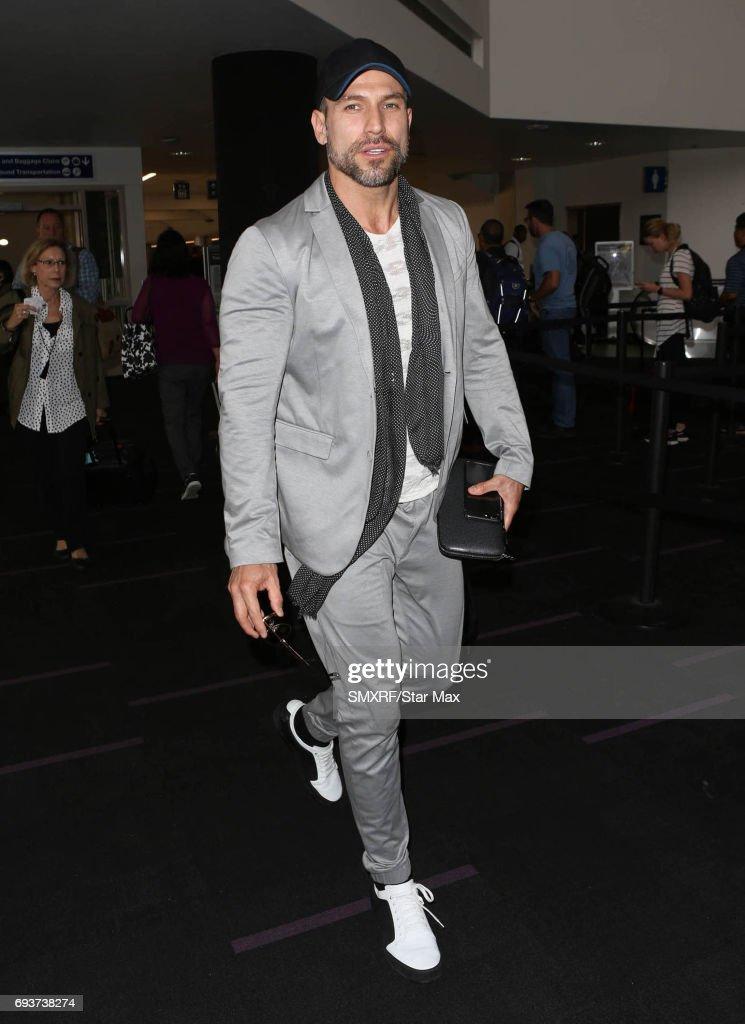 Rafael Amaya is seen on June 7, 2017 in Los Angeles, California.