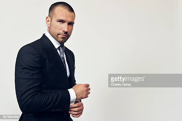 Rafael Amaya poses for a portrait at the 2014 NCLR ALMA Awards for on October 10 2014 in Pasadena California