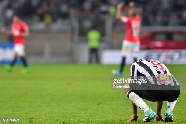 Rafael Carioca of Atletico MG after the game between Atletico MG and Jorge Wilstermann as part of Copa Bridgestone Libertadores 2017 at Mineirao...