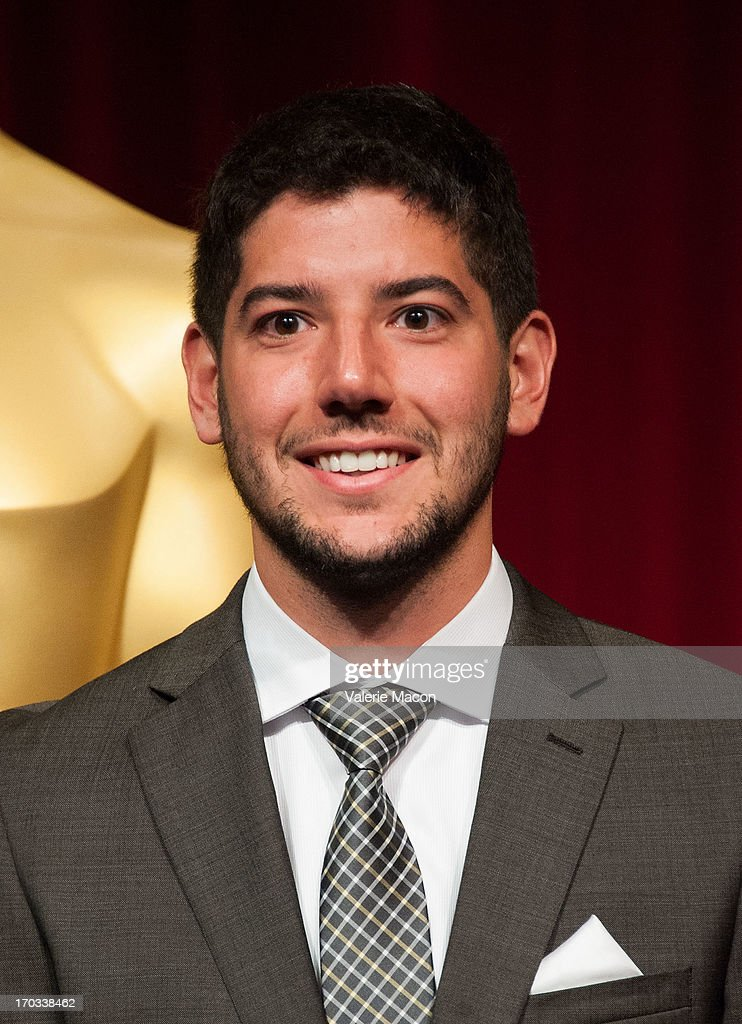 Rafael Cortina attends The Academy Of Motion Picture Arts And Sciences' 40th Annual Student Academy Awards Ceremony at AMPAS Samuel Goldwyn Theater...