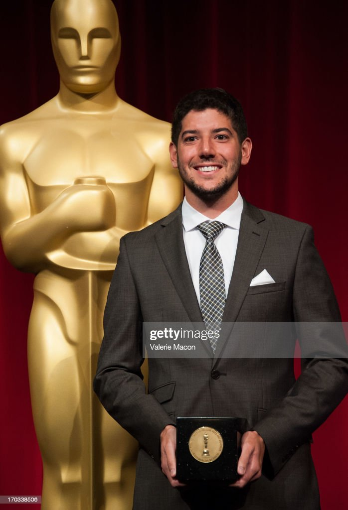 Rafael Cortina attends The Academy Of Motion Picture Arts And Sciences' 40th Annual Student Academy Awards Ceremony at AMPAS Samuel Goldwyn Theater on June 8, 2013 in Beverly Hills, California.