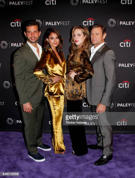 Rafael De La Fuente Nathalie Kelley Elizabeth Gillies and Grant Show attend The Paley Center for Media's 11th annual PaleyFest Fall TV Previews for...