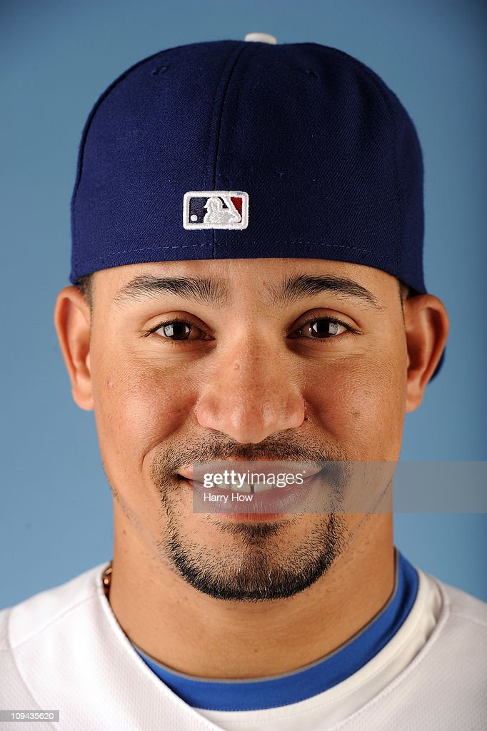 Rafael Furcal #15 of the Los Angeles Dodgers poses for a photo on photo day at Camelback Ranch on February 25, 2011 in Glendale, Arizona.