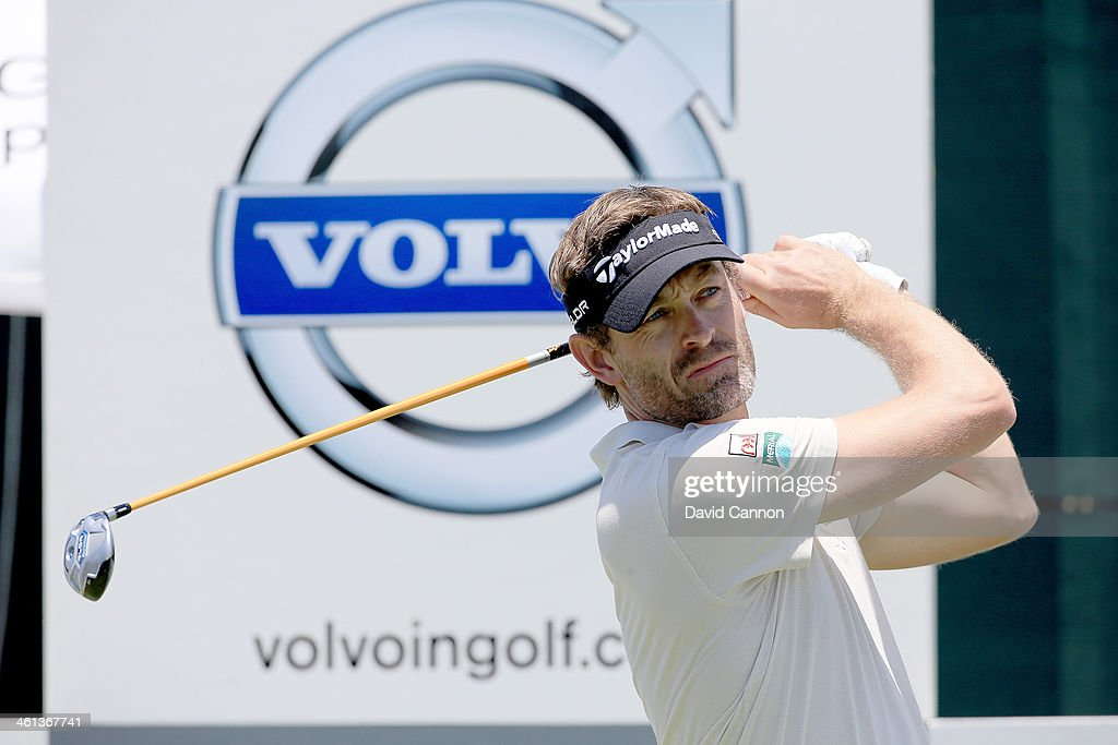 Rafael Jacquelin of France during the pro-am as a preview for the 2014 Volvo Golf Champions tournament at Durban Country Club on January 8, 2014 in Durban, South Africa.
