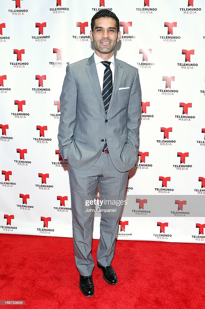 Rafael Marquez attends the 2013 Telemundo Upfront at Frederick P. Rose Hall, Jazz at Lincoln Center on May 14, 2013 in New York City.