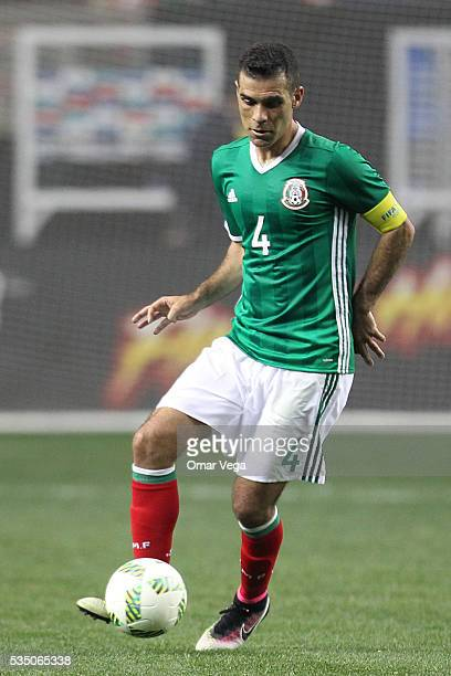 Rafael Marquez of Mexico controls the ball during the International Friendly between Mexico and Paraguay at Georgia Dome on May 28 2016 in Atlanta...