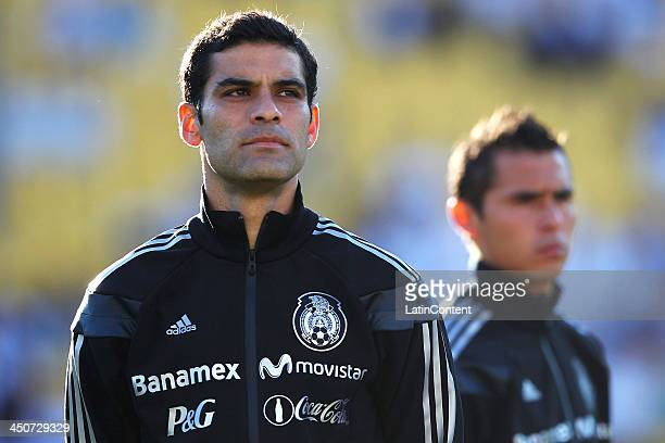 Rafael Marquez of Mexico looks prior to leg 2 of the FIFA World Cup Qualifier match between the New Zealand All Whites and Mexico at Westpac Stadium...