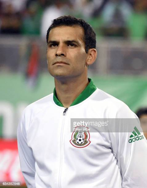 Rafael Marquez of Mexico stands on the field before the team's exhibition game against Iceland at Sam Boyd Stadium on February 8 2017 in Las Vegas...