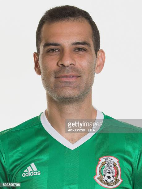 Rafael Marquez poses for a picture during the Mexico team portrait session on June 14 2017 in Kazan Russia