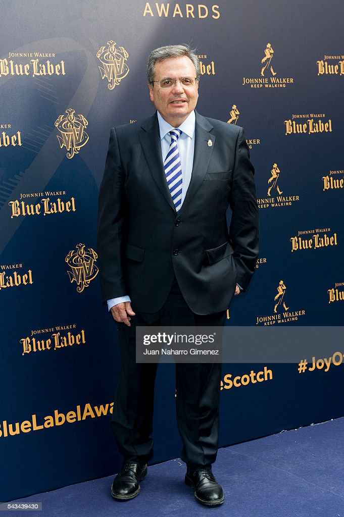 Rafael Matesanz attends 'Blue Label Awards' at Residence of the Ambassador of United Kingdom in Spain on June 28, 2016 in Madrid, Spain.