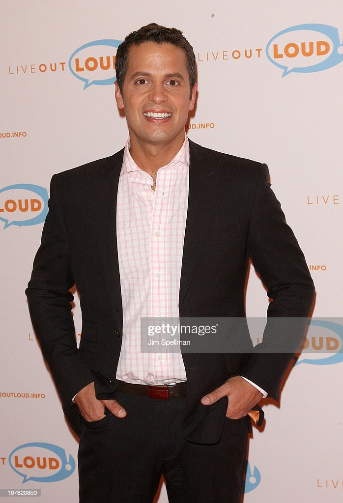 Rafael Miranda attends the 12th Annual Live Out Loud Gala at TheTimesCenter on April 30, 2013 in New York City.