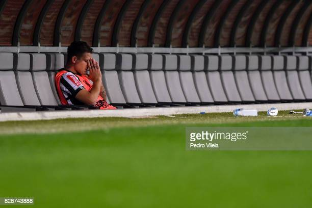 Rafael Moura of Atletico MG after the game between Atletico MG and Jorge Wilstermann as part of Copa Bridgestone Libertadores 2017 at Mineirao...