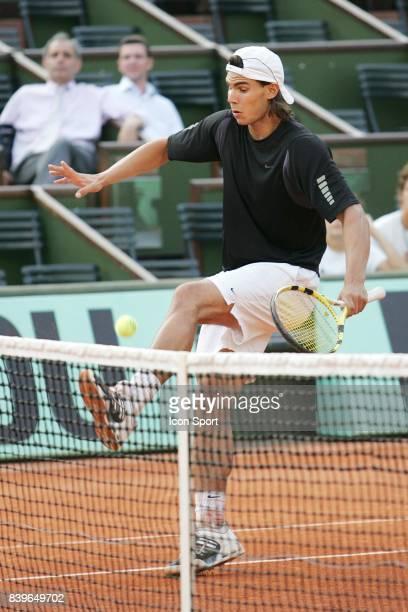 Rafael NADAL Entrainement Roland Garros 2007