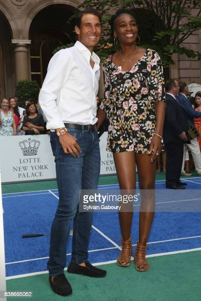 Rafael Nadal and Venus Williams attend 2017 Lotte New York Palace Invitational at Lotte New York Palace on August 24 2017 in New York City