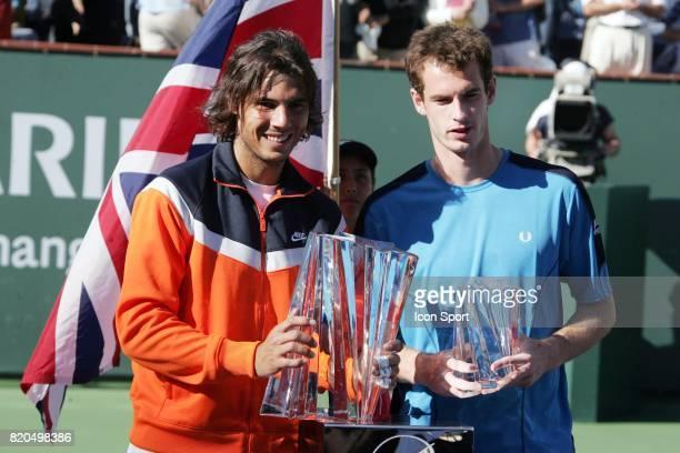 Rafael NADAL / Andy MURRAY Rafael NADAL / Andy MURRAY BNP Paribas Open Finale Indian Wells