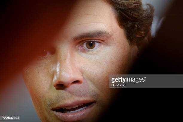 Rafael Nadal attend the a dinner to commemorate the 50th anniversary of the sports newspaper 'As' and the As Sports Award ceremony at the Cibeles...