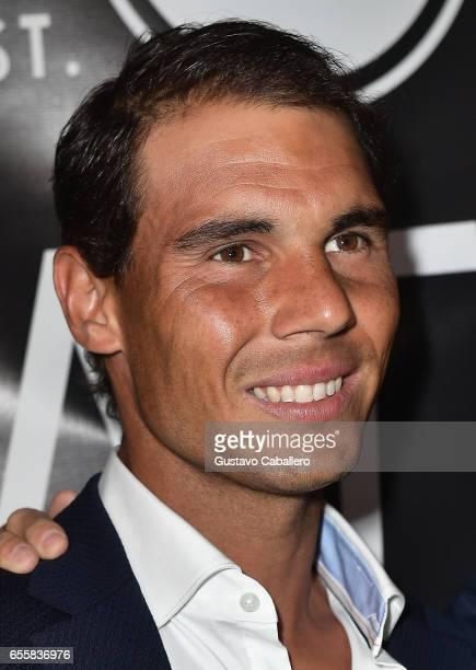 Rafael Nadal attends the Grand Opening Celebration of TATEL Miami at TATEL Miami on March 20 2017 in Miami Beach Florida