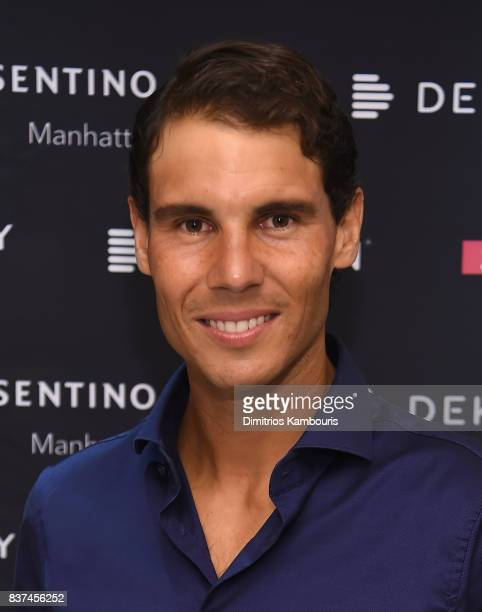 Rafael Nadal cohosts exclusive cocktail event with Cosentino at Cosentino City Manhattan on August 22 2017 in New York City